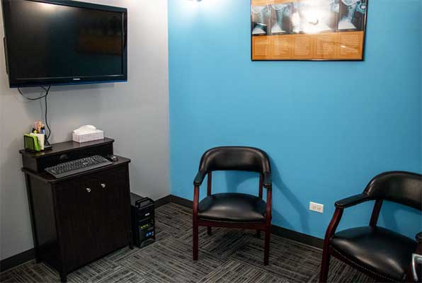 Chiropractic Lockport IL Consultation Room