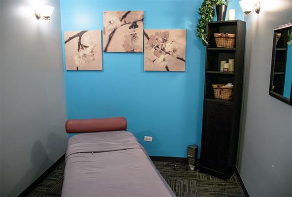 Chiropractic Lockport IL Massage Room