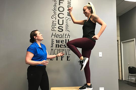 Chiropractic Lockport IL Patient Exercise