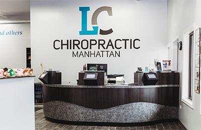 Chiropractic Manhattan IL Front Desk